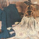 Annies Attic Homespun Afghans Crochet Pattern 5 designs 871215 Shirley Brown