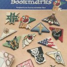 ANNIE'S ATTIC Creative Corner BOOKMARKS PLASTIC CANVAS Patterns 872032