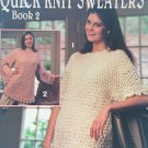 Quick Knit Sweaters Book 2 Knitting Pattern Leisure Arts 2700