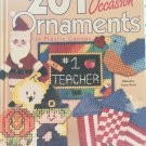 201 All Occasion Ornaments in Plastic Canvas House of White Birches HC book