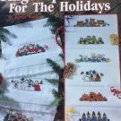 Fingertip Friends for the Holidays Cross Stitch Charts Leisure Arts Leaflet 2359