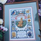 Spring Blessings cross stitch sampler chart Lorri Birmingham Designs book 217