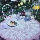 Table Toppers 5 Thread Crochet Patterns by American School Of Needlework 1094