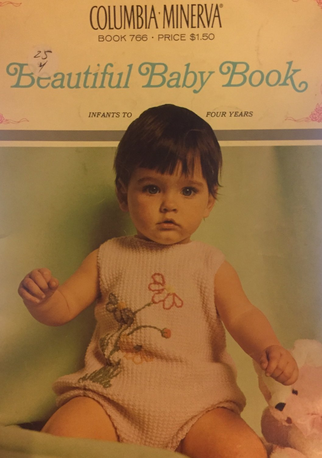 Beautiful Baby Book Knitting Pattern Baby afghan baby booties Columbia Minerva Book 766