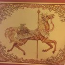 Teresa Wentzler Carousel Horse Spring Cross Stitch Chart JUST CROSS STITCH leaflet 99