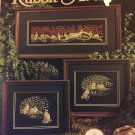Rabbit Avenue Cross Stitch Pattern  Leisure Arts Leaflet 586 Claudia Anderson