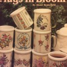 Leisure Arts 2369 Mugs In Bloom Cross Stitch Charts Stitch a mugs