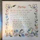 Mother´ś Poem Cross My Heart Cross Stitch Chart CSL5