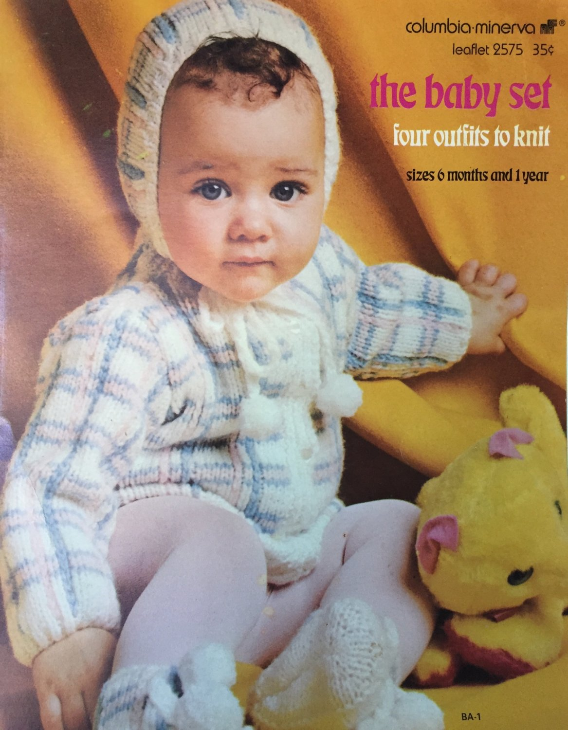 The Baby Set Four Outfits to knit Columbia Minerva 2575