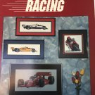 Judy Counts Racing Cross Stitch Pattern Indy Race Car Motor Cycle