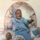 Baby's Book Knit & Crochet Pattern Book, Leisure Arts #144 Loop Stitch Set