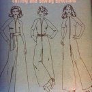 Simplicity 9369 Jumpsuit Trouser One piece Romper 1970s zip up palazzo Size 12