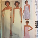 McCalls 7574 Sundress UNCUT Size 10 Sewing Pattern Designer Bill Tice