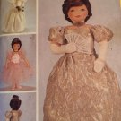 Butterick 3115 Rachel Wallis 23 Inch Doll Ballet Wedding Queen Clothes Sewing Pattern
