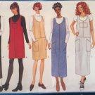 Sewing pattern women's misses' jumper dress, Butterick 5691, size 18 20 22