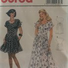 Burda 4323 Misses dress in 2 lengths Sewing Pattern Sizes 6 to 18
