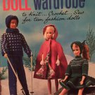 Fashion Doll 1964 Vintage wardrobe Pattern Coats and Clark's Book 151
