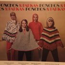 Ponchos Parkas Columbia Minerva 2516 Knitting and Crochet 1970's