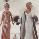 Vogue 7162 Fashion Doll Clothes Sewing Pattern UNCUT  flapper coat 20s 30s