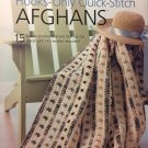 House of White Birches #101174 Hooks-Only Quick Stitch Afghans Crochet Pattern
