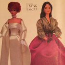 Vogue Sewing Pattern 7222 LINDA CARR 1960/1970 Doll Gowns Sewing Pattern 11 1/2 Inch Dolls