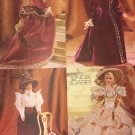 Vogue 9759 Fashion Doll Historical Gowns Costumes Sewing Pattern Fits 11 1/2 inch Dolls UNCUT