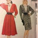 McCalls 3851 Dress and Dickey Pattern Size 16-22 Sewing Pattern Uncut