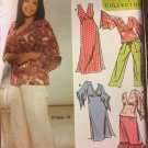Simplicity Sewing Pattern 5074 Misses Womens Dress Skirt Top Size 18-24 Khaliah Ali
