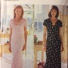 Butterick 6056 Misses Dress and Slip David Warren UNCUT Size 18 to 24 Sewing Pattern