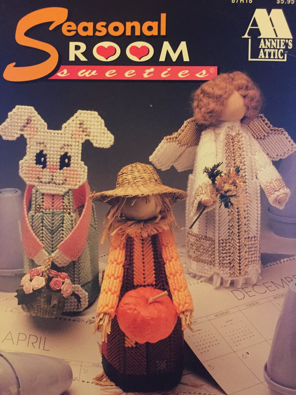 Seasonal Room Sweeties Air Fresheners Plastic Canvas Pattern Annies Attic 87R18