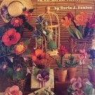 Flowers Plastic Canvas Pattern Book, American School of Needlework #3131