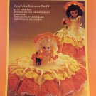 Merry Sunshine 8 inch Pillow Doll 13 inch Music Box Doll Bed Doll Crochet Pattern Fibre Craft FCM197
