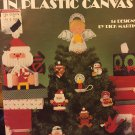 Christmas Magic in Plastic Canvas Leisure Arts 1054 14 designs by Dick Martin