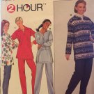 Simplicity 8247 Pattern top and pants sizes 12,14,16 Sewing Pattern