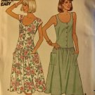 Butterick 3864 Misses' Dress: Dress with dropped waist Sewing Pattern size 12 14 16