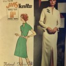 """Simplicity 5320 Miss Petites' Jiffy Knit Dress in Two Lengths Sewing Pattern Size 10MP Bust 32 1/2"""""""