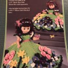 Favorite Things Music Box Doll, or Bed Doll Crochet Pattern Fibre Craft FCM209