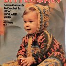Little Ones seven outfits to Crochet Columbia Minerva 2547 crochet pattern