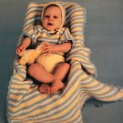 Soft Baby Sets outfits to Crochet Columbia Minerva 2648 crochet pattern