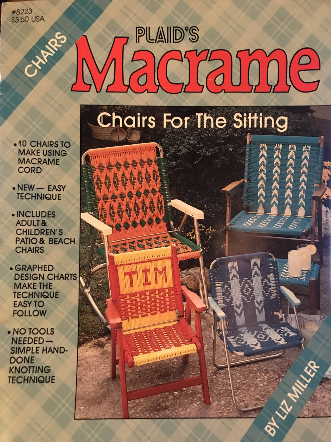 Macrame Chairs for the Sitting Plaid Book 8223