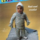 Baby Fashions Knit and Crochet Stitches With Style no. 17026