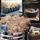 Easy Crochet Basket Pattern The Needlecraft Shop 88H6 8 Designs