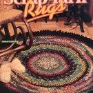 Scrap Yarn Rugs Crochet Pattern 101039 House of White Birches 10 Designs
