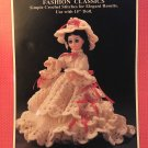 Constance Southern Bell Doll Gown for 15¨ doll Crochet Pattern Fibre Craft FCM174