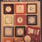 Family CIrcles collection three Cross Stitch Charts Leisure Arts 469
