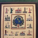 Treetrunk Designs Lighthouses Around The World Cross Stich pattern