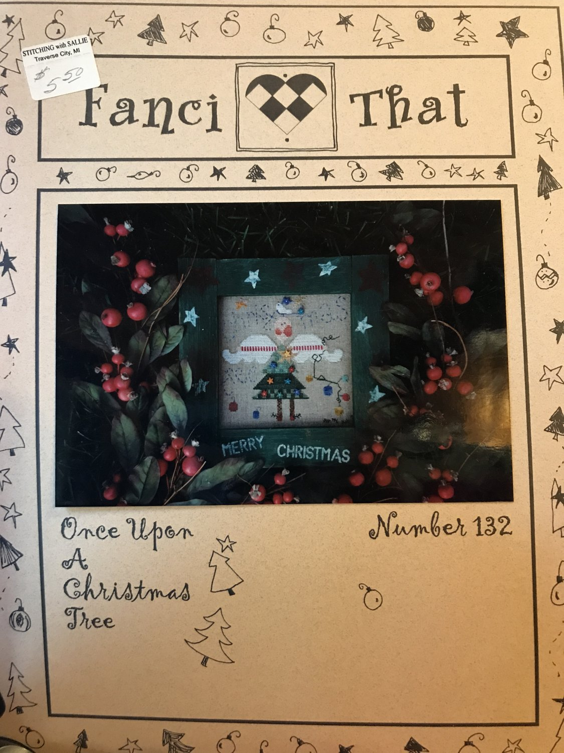 Fanci That Once Upon A Christmas Tree Counted Cross Stitch Pattern number 132