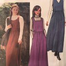 Butterick 3569 Misses A-Line Jumper Size 20 - 24 Sewing Pattern