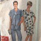 Simplicity 8730 Sewing Pattern Top Pants Skirt Professional Medical Dental Uniform Scrubs S M L Xl