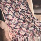 Leisure Arts Variegated in Vogue 12 crocheted afghan patterns #3108